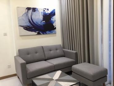 Cho thuê căn hộ Vinhomes Central Park 1 phòng ngủ toà Central full nội thất giá 800$ bao phí